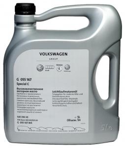 VAG Масло моторное синтетическое Special C 0W-30 (5л)