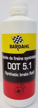 BARDAHL Тормозная жидкость DOT 5,1 (0,5л)