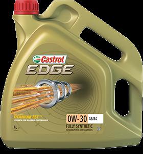 Castrol Масло моторное синтетическое EDGE A3/B4 TITANIUM FST 0W-30 (4л)
