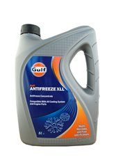 Gulf Антифриз Antifreeze XLL концентрат (красный) (5л)