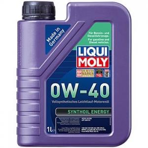 LIQUI MOLY Масло моторное синтетическое Synthoil  Energy 0W-40 (1л)