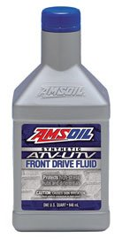 AMSOIL Масло трансмиссионное Synthetic ATV/UTV Front Drive Fluid (0,946л)