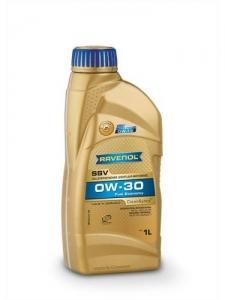 RAVENOL Масло моторное синтетическое SSV Fuel Economy SAE 0W-30 (1л) new
