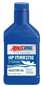 AMSOIL Масло моторное для 2-Такт лод.мот. HP Marine Synthetic 2-Stroke Oil (0,946л)