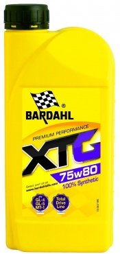 BARDAHL Масло трансмиссионное синтетическое XTG 75W-80 (1л)