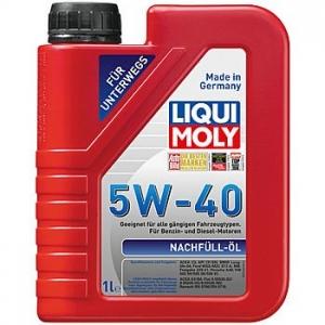 LIQUI MOLY Масло моторное НС-синтетическое Nachfull Oil 5W-40 (1л)