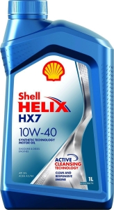 Shell Масло моторное полусинтетическое Helix HX7 10W-40 (1л)