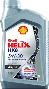 Shell Масло моторное синтетическое Helix HX8 5W-30 A5/B5 (1л)