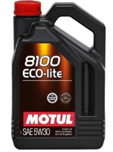 Motul Масло моторное синтетическое Eco-Lite 8100 5W-30 (4л)