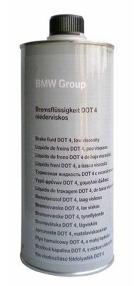 BMW Жидкость тормозная Bremsflssigkeit DOT 4 (1л)