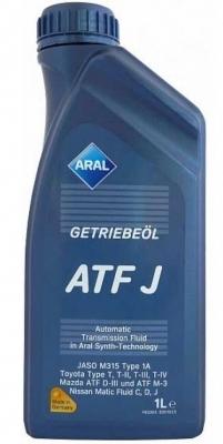 ARAL Масло трансмиссионное синтетическое Getriebel ATF J (1л)