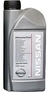 Nissan Масло трансмисионное синтетическое DIFFERENTIAL FLUID SAE 80W-90 (1л)
