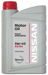 Nissan Масло моторное синтетическое 5W-40 (1л)