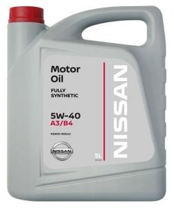 Nissan Масло моторное синтетическое 5W-40 (5л)