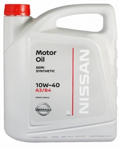 Nissan Масло моторное полусинтетическое 10W-40 (5л)