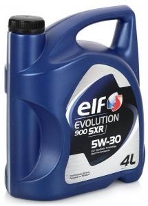ELF Масло моторное синтетическое  Evolution 900 SXR 5W-30 (4л)