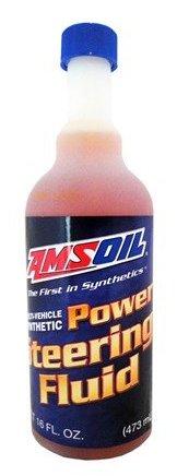 AMSOIL Жидкость гидравлическая Multi-Vehicle Synthetic Power Steering Fluid (0,473л)