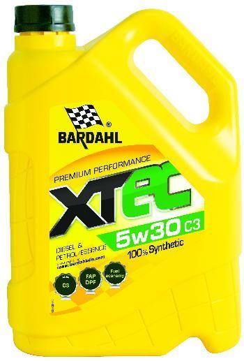 BARDAHL Масло моторное синтетическое XTEC 5W-30 (5л)