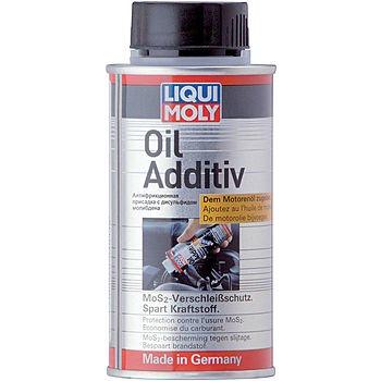LIQUI MOLY Антифрикционная присадка с дисульфидом молибдена в моторное масло Oil Additiv (125мл)