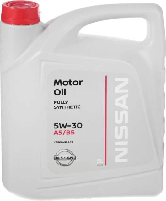 Nissan Масло моторное синтетическое 5W-30 (5л)