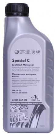 Моторное масло VAG Special C 0W-30, 1л
