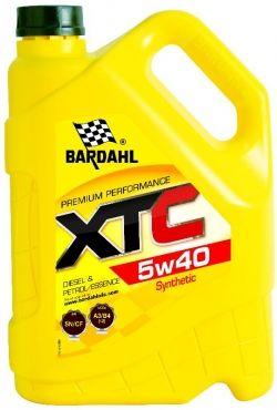Моторное масло BARDAHL XTC 5W-40, 5л