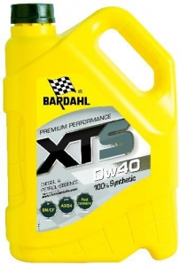 Моторное масло BARDAHL XTS 0W-40, 5л
