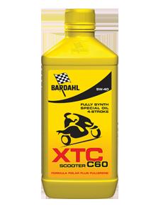 Масло моторное BARDAHL XTC C60 Scooter 5W-40 (1л)