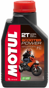 Масло моторное Motul Scooter Power 2T (1л)