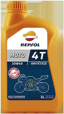 Масло моторное REPSOL MOTO SINTETICO 4T 10W-40 (1л)