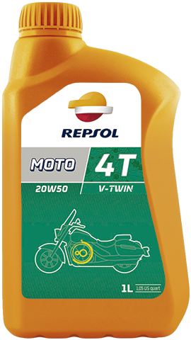 Масло моторное REPSOL MOTO V-TWIN 4T 20W-50 (1л)