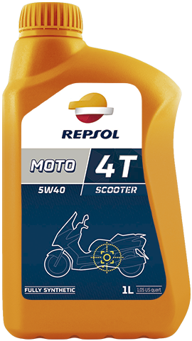 Масло моторное REPSOL MOTO SCOOTER 4T 5W-40 (1л)