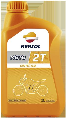 Масло моторное REPSOL MOTO SINTETICO 2T (1л)