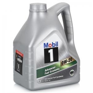 Моторное масло Mobil 1 Advanced FE 0W-20, 4л