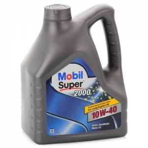 Моторное масло Mobil Super 2000 X1 10W-40, 4л
