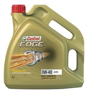 Моторное масло Castrol EDGE A3/B4 TITANIUM FST 0W-40, 4л