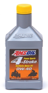 Масло моторное AMSOIL Formula 4-Stroke® PowerSports Synthetic Motor Oil SAE 0W-40 (0,946л)