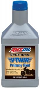 Масло трансмиссионное AMSOIL Synthetic V-Twin Primary Fluid (0,946л)