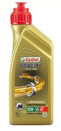 Масло моторное Castrol Power 1 Racing 4T 10W-50 (1л)