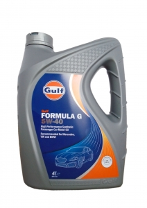 Моторное масло Gulf Formula G 5W-40 A3/B4, 4л