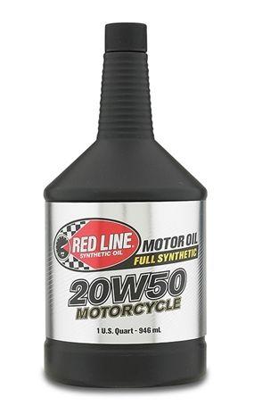 Моторное масло для 4-х тактных двигателей REDLINE OIL 20W-50 (0,946л)