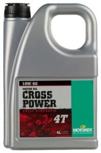 Масло моторное MOTOREX Cross Power 4Т SAE 10W-60 (4л)