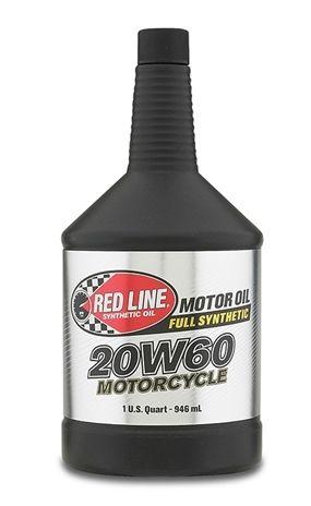 Моторное масло для 4-х тактных двигателей REDLINE OIL 20W-60 (0,946л)