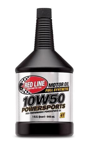 Моторное масло для 4-х тактных двигателей REDLINE OIL 10W-50 (0,946л)