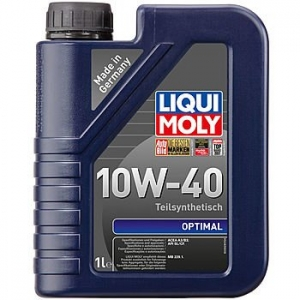 Моторное масло LIQUI MOLY Optimal 10W-40, 1л