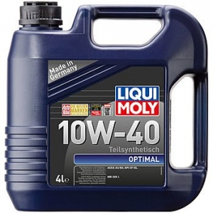Моторное масло LIQUI MOLY Optimal 10W-40, 4л