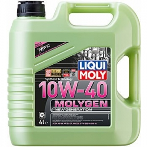 Моторное масло LIQUI MOLY Molygen New Generation 10W-40, 4л