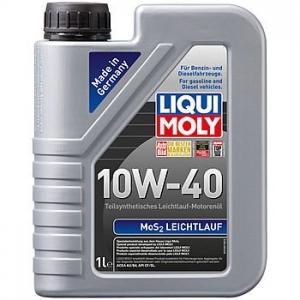 Моторное масло LIQUI MOLY MoS2 Leichtlauf 10W-40, 1л