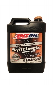 Моторное масло AMSOIL Signature Series Synthetic Motor Oil SAE 0W-30, 3.78л
