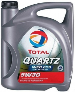 Моторное масло Total QUARTZ INEO ECS 5W-30, 4л